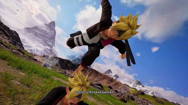 Inilah screenshot terbaru karakter Jump Force – Boruto Uzumaki.