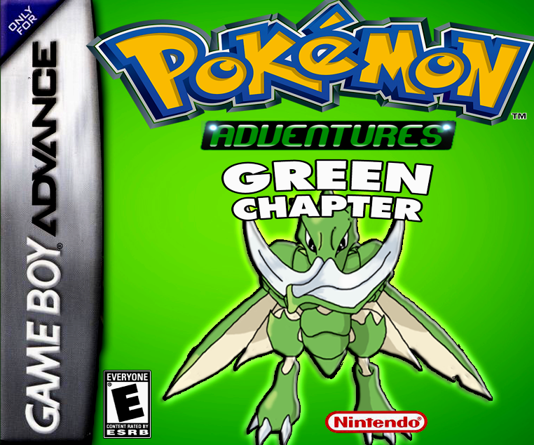 Pokemon Adventures Green Chapter