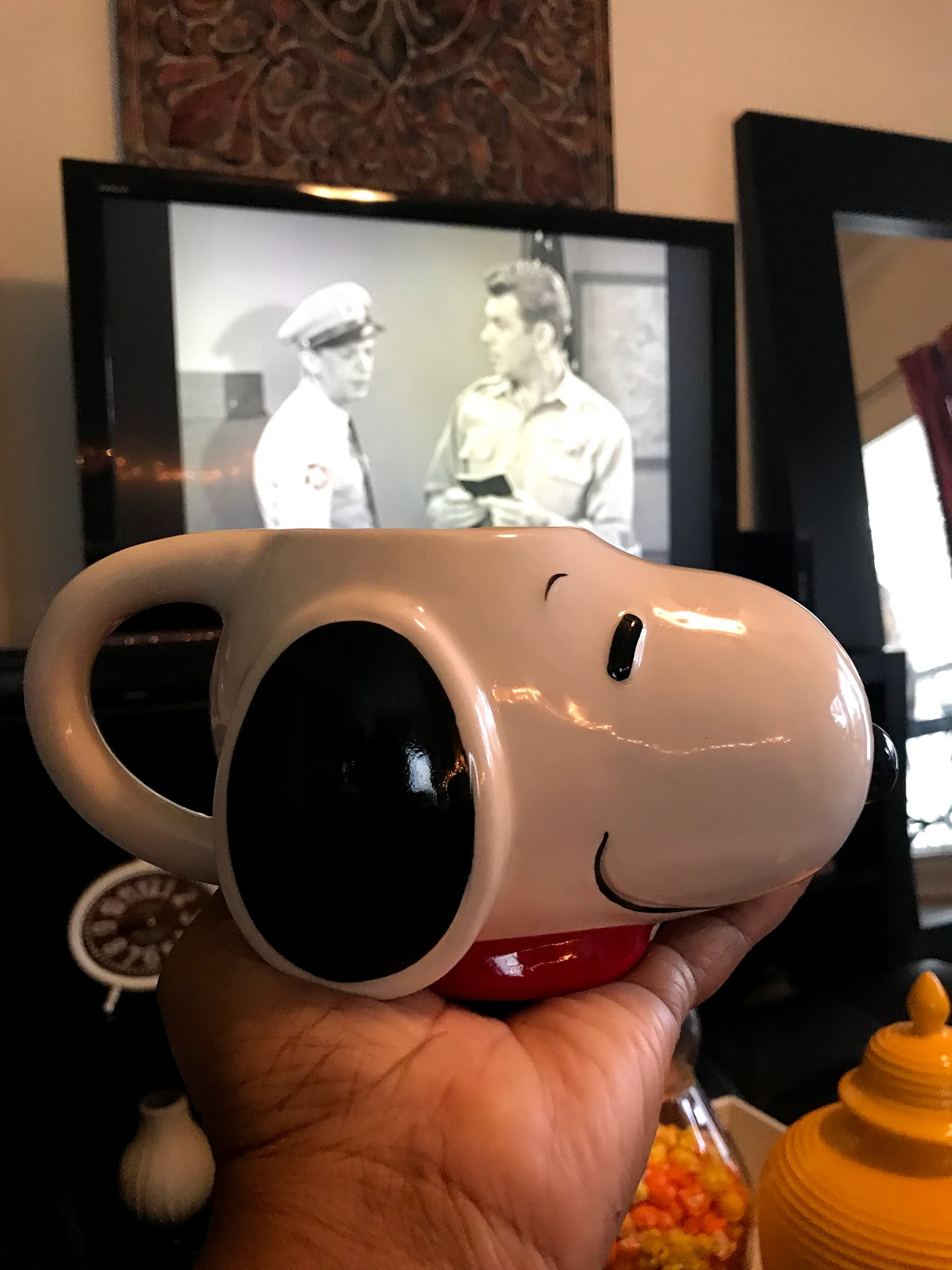 Image: Snoopy Cup Coffee