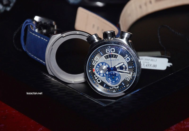 One of the watches from the BOMBERG BOLT-68 collection