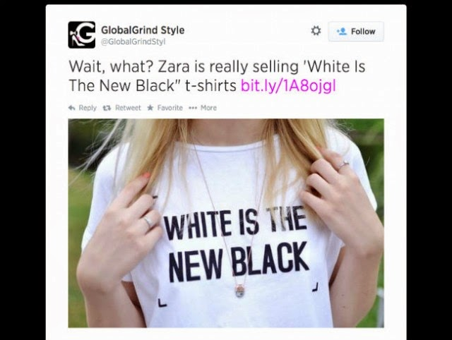 8c9dbe0e70 Does no one watch the history channel? listen in school? I think someone  could do with a little history and diversity and sensitivity training at  the Zara ...