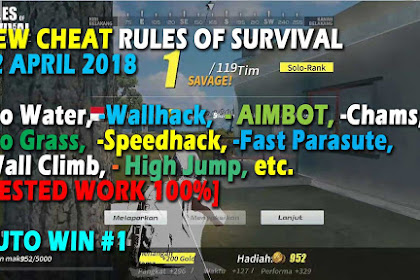 Update After MT Cheat Rules of Survival Glutamin 8.0 Update 18 April 2018