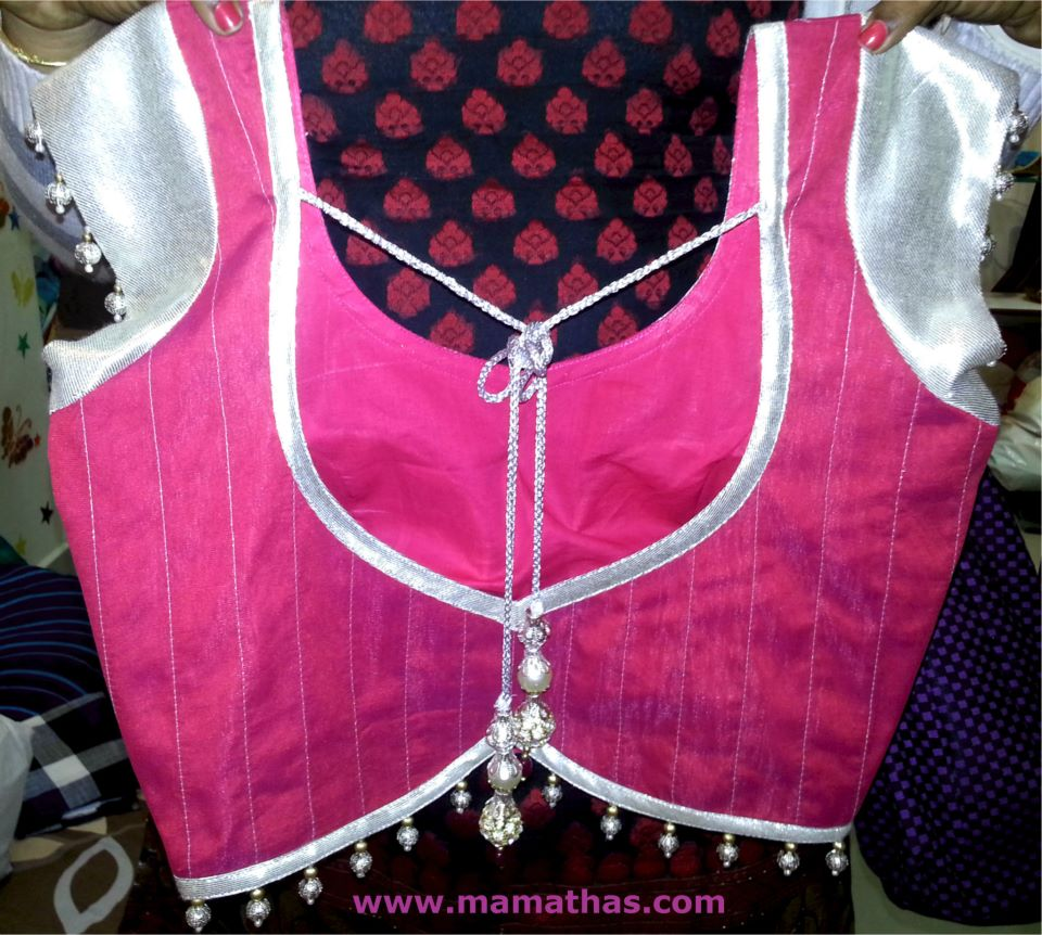Designer saree blouses by mamatha s south india fashion