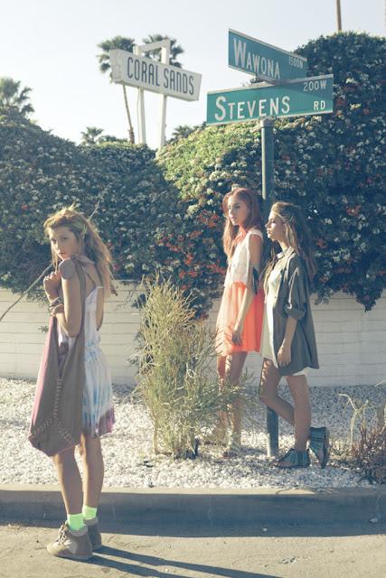 JOURNEY TO SANTOSHA  California Dreamin  Hitchhiking Hippie Shoot Inspiration