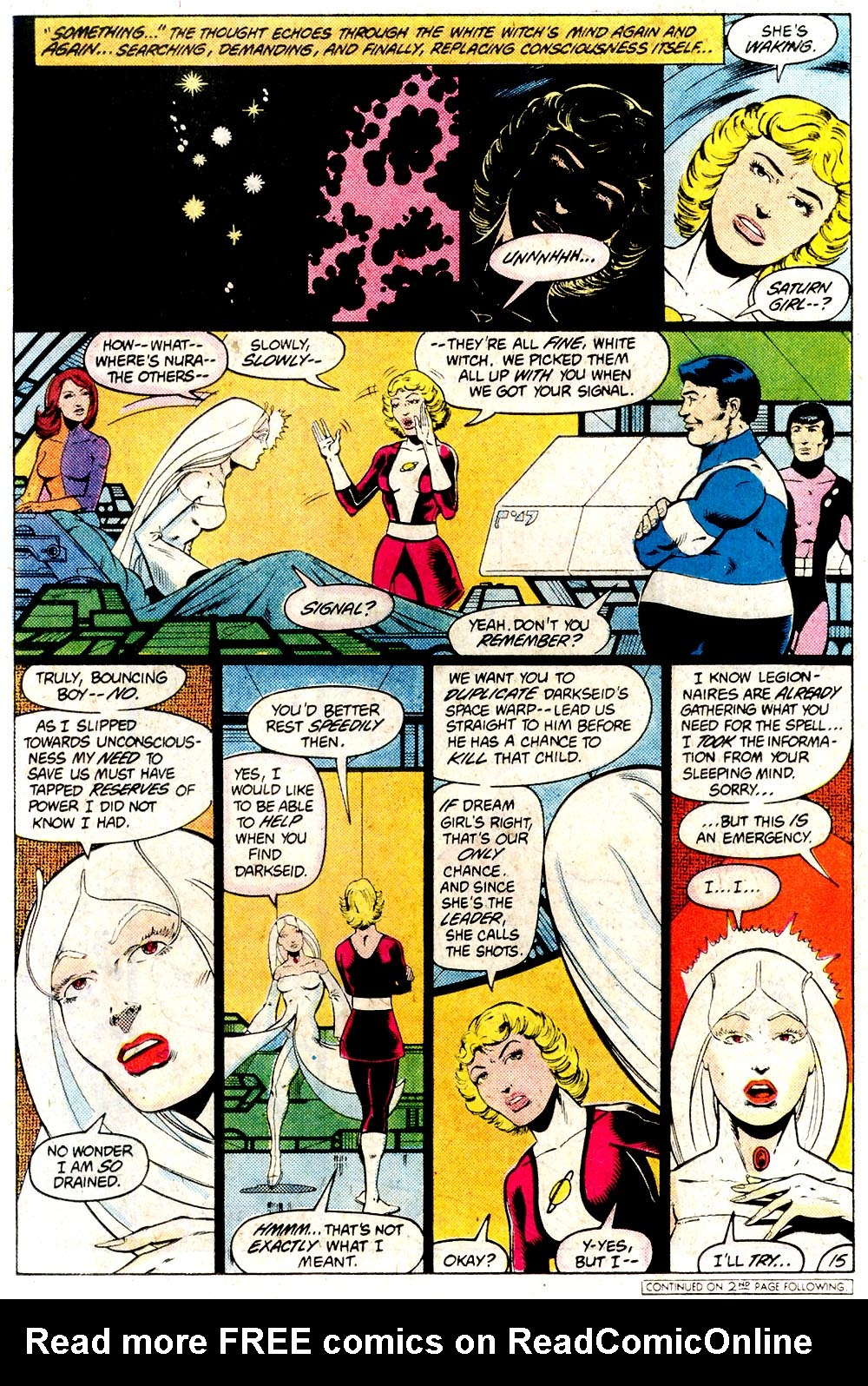 Legion of Super-Heroes (1980) 294 Page 15