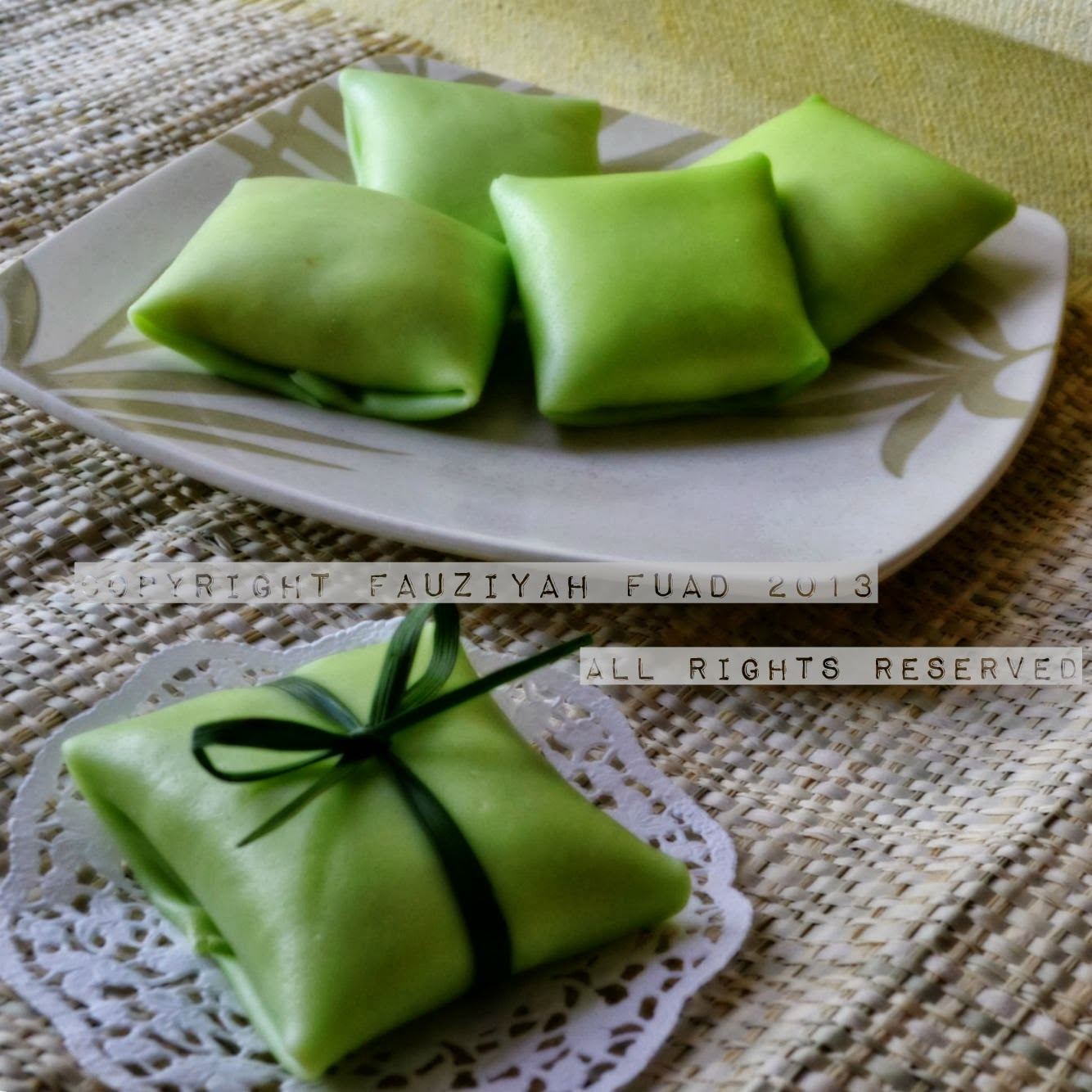 from my little kitchen: durian crepe a.k.a durian pancake