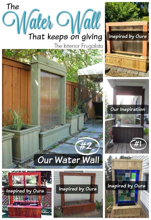 DIY Water Wall Inspiration