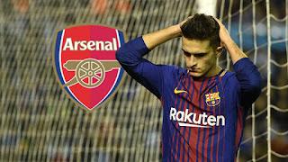 Denis Suarez Merapat ke Arsenal