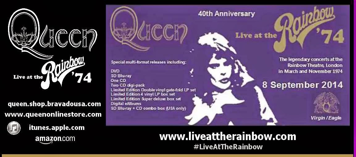¡YA ESTÁ A LA VENTA! LIVE AT THE RAINBOW '74