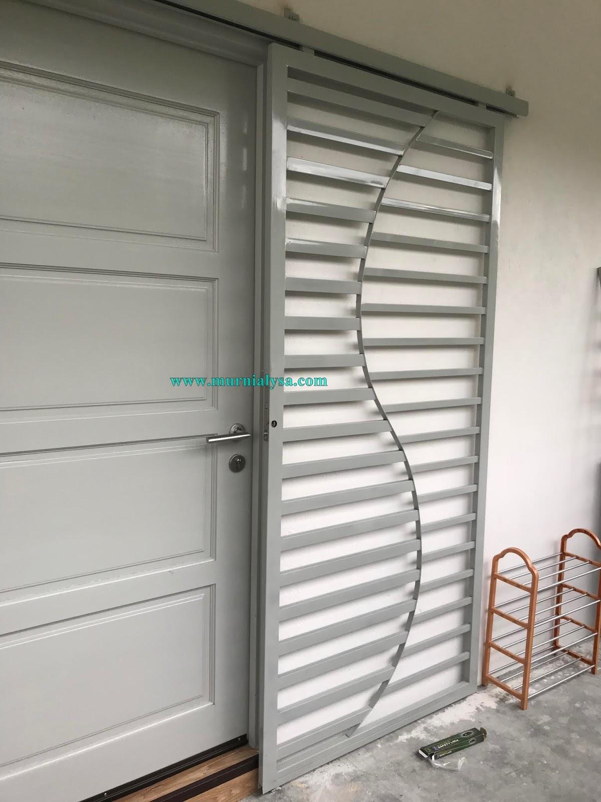 Pasang Grill Dan Bird Cage Rumah Baru Coretan Murni Alysa