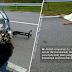 Kereta terbabas, pemandu tercampak dan putus kepala