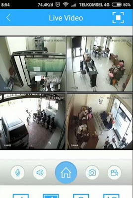 cara setting CCTV online di android