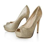 Kurt Geiger, Gold Shoes