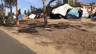 Adevarul despre - Homeless . Oameni fara adapost din California.