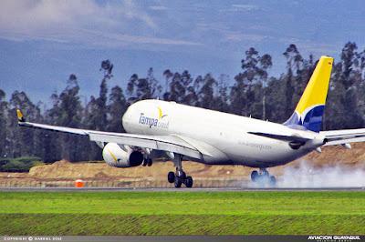 Tampa Cargo boeing 767 Quito