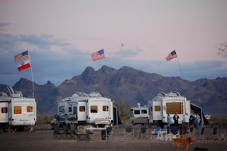 It's Quartzsite boondocking time