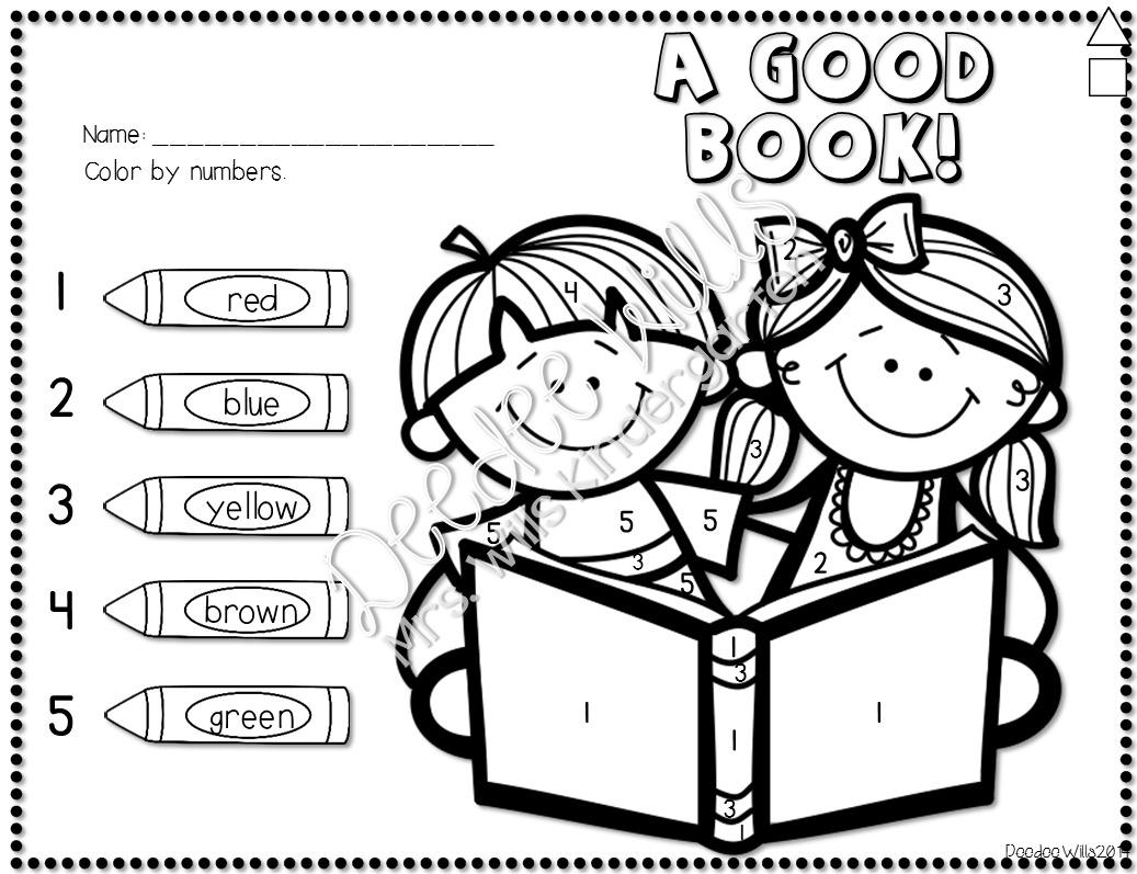 Kindergarten No Prep Worksheets