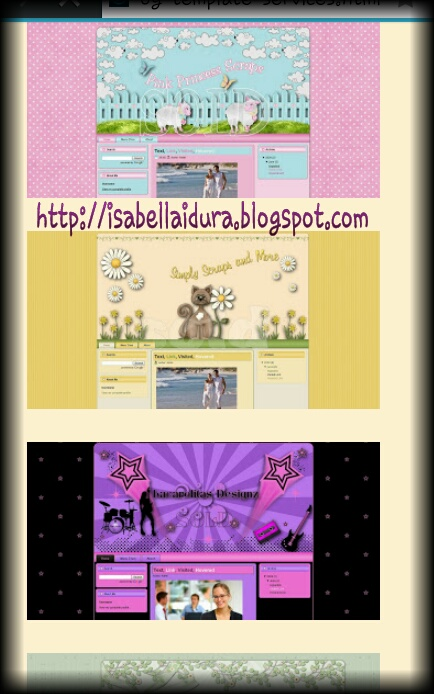 Template or theme untuk all blogger