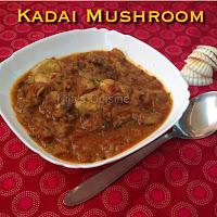 Kadai Mushroom Gravy