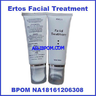 ertos facial treatment asli bpom