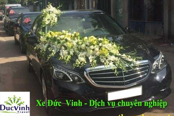 Cho thuê xe cưới Mercedes E200 đời mới nhất tại Hà Nội