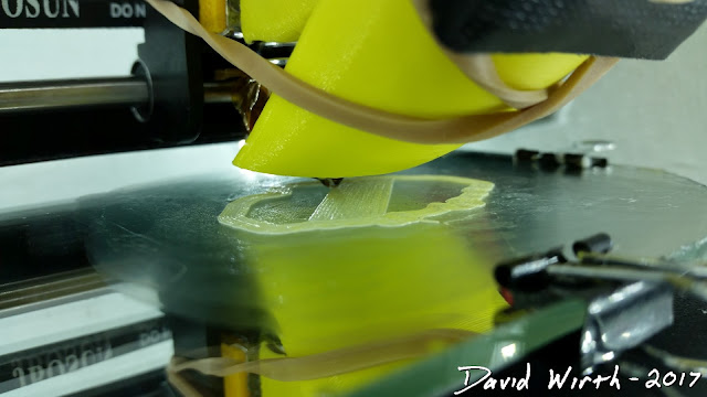 printing on glass using gluestick