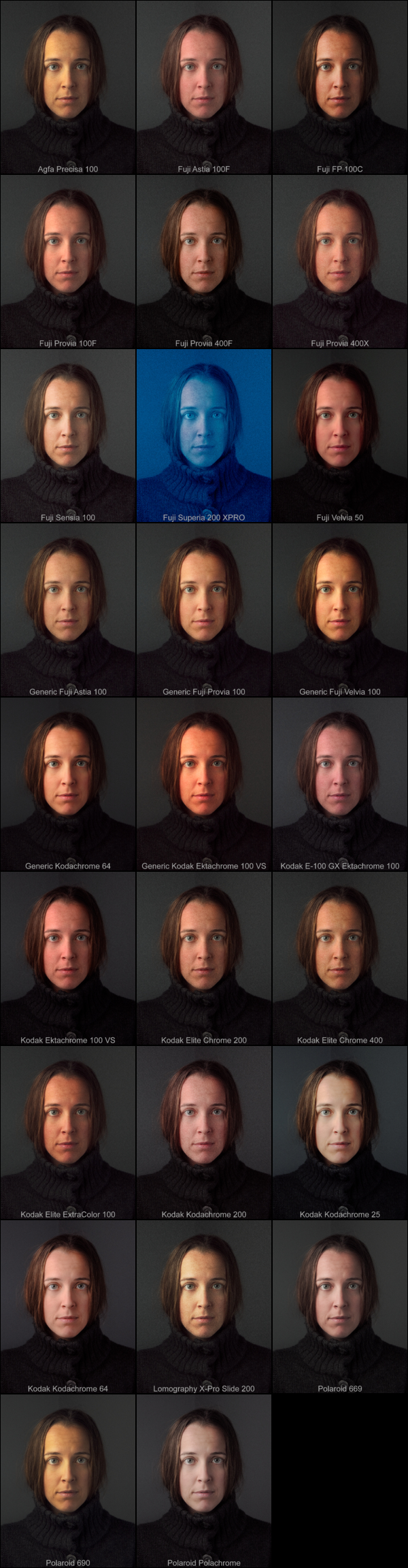 Pat David: Film Emulation Presets in G'MIC (GIMP) [Addendum]
