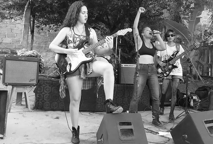 Festival de rock com bandas femininas em Santarém