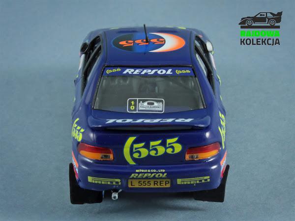 IXO Altaya Subaru Impreza 555 Rally Sanremo 1995