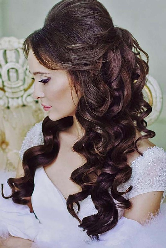 Bridal hairstyles wedding hairstyles for every length beauty bridal hairstyles junglespirit Choice Image