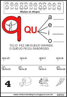 Livro Mistura de Alegria para alfabetização