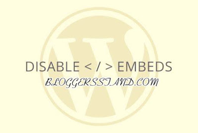 How to disable Disable Post oEmbed on WordPress Site