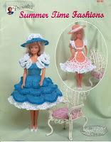 Vestidos de Crochê Para Barbie Com Receitas