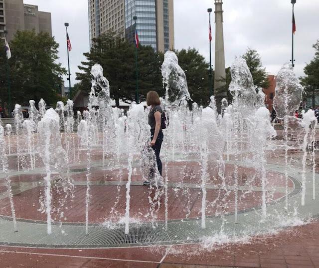 Atlanta Georgia Centennial Olympic Park America