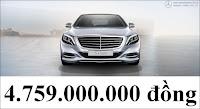 Giá xe Mercedes S500 L