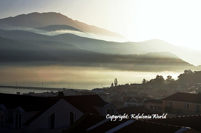 Kefalonia Hazy Morning, Koutavos Lagoon