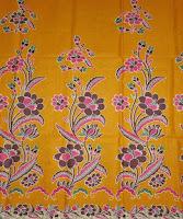 Kain Batik Cibulan 100 Kuning