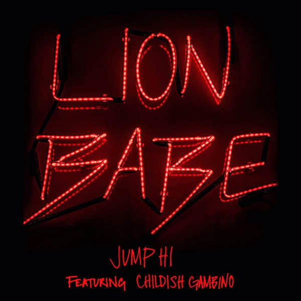 LION BABE - Jump Hi (feat. Childish Gambino) - Single Cover