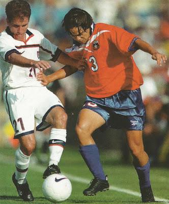 Estados Unidos y Chile en partido amistoso, 21 de febrero de 1999