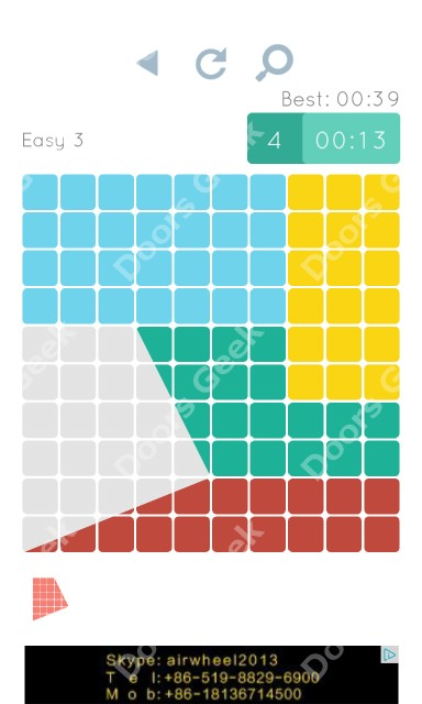 Cheats, Walkthrough for Blocks and Shapes Level 3