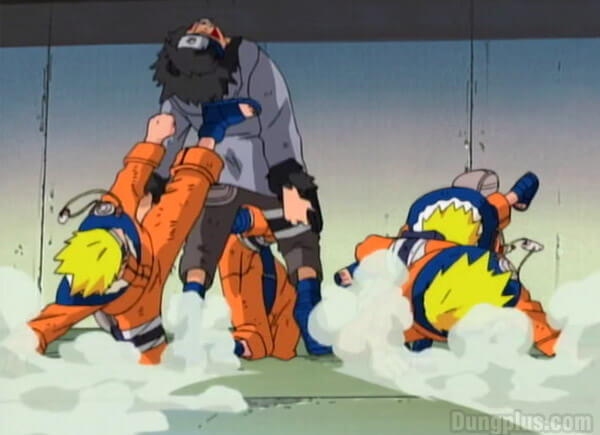 Trận chiến giữa Naruto với Kiba