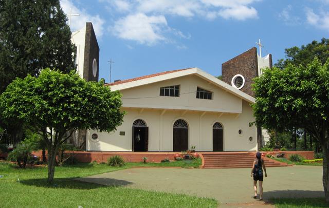 Catedral de San Blas, en Ciudad del Este