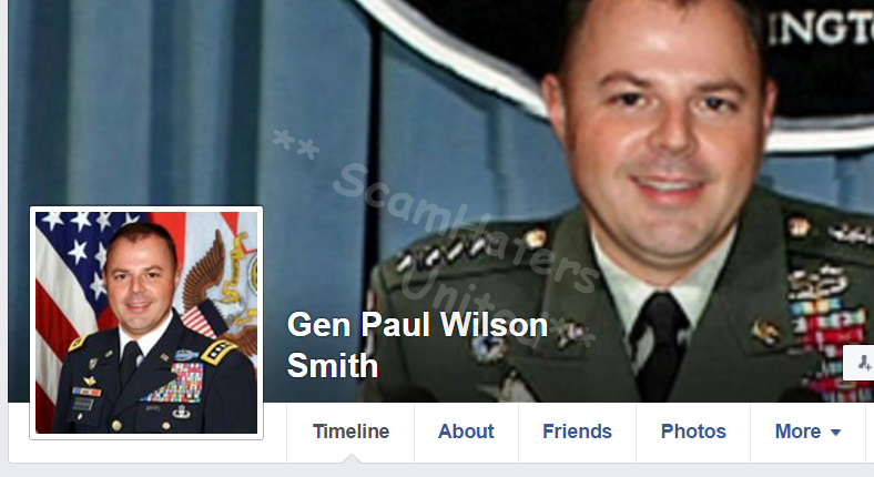 George wilson military dating scam