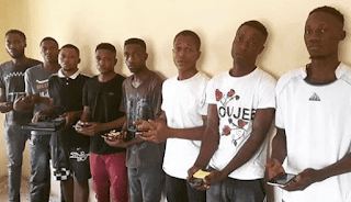 8 Suspected Internet Fraudsters Arrested By EFCC In Ilorin