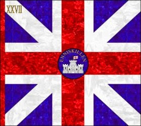 27th Regiment of Foot (Inniskilling Regiment)  Kings Colour