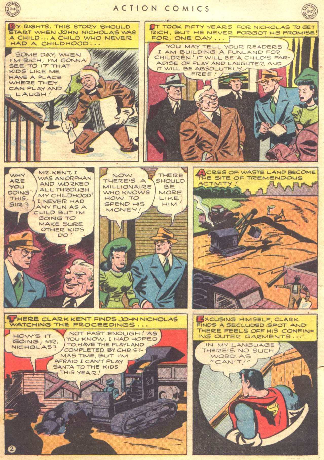 Read online Action Comics (1938) comic -  Issue #81 - 4