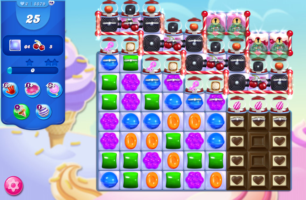 Candy Crush Saga level 5579
