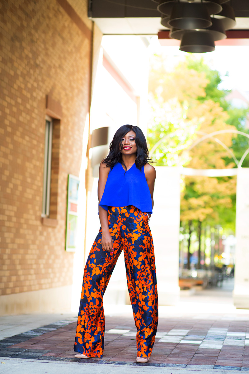 simply intricate nyc pants, cameo collective crop top