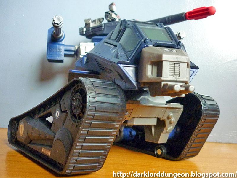 Tank w// Cobra Commander GI Joe Retaliation H.I.S.S