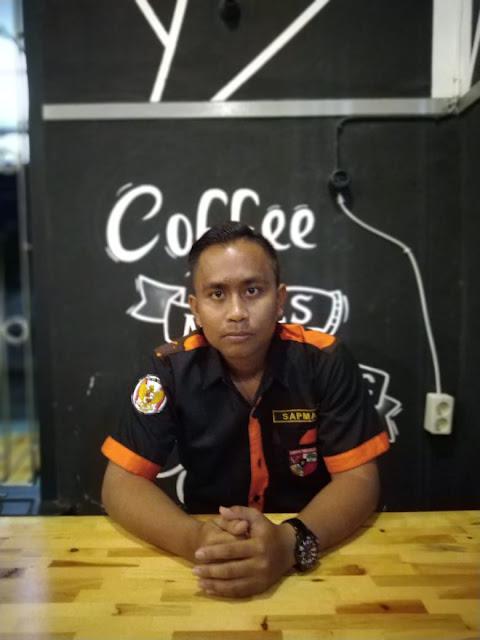Ketua Sapma PP Simalungun  M Faisal Sirait